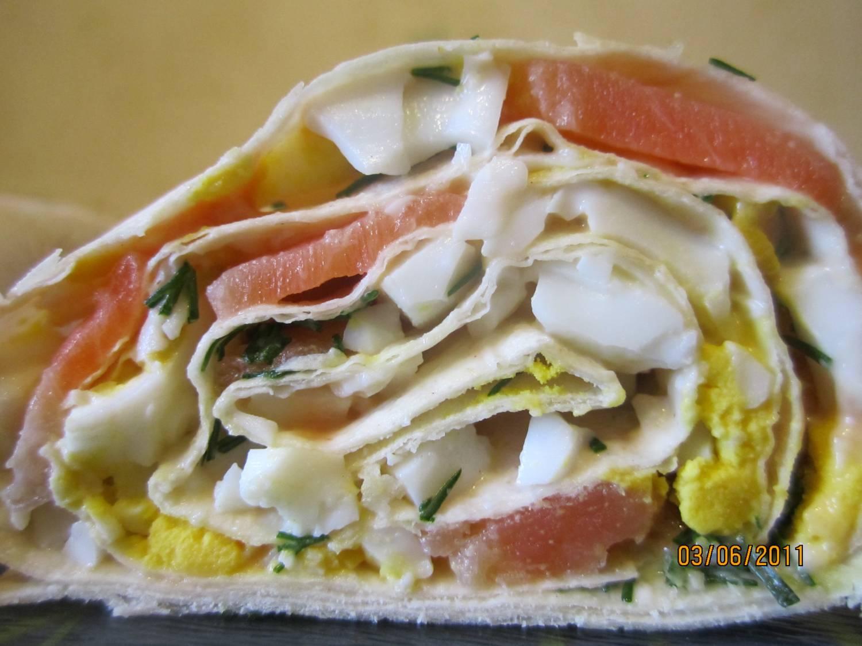 Начинки для лаваша с рыбойы вкусные с фото